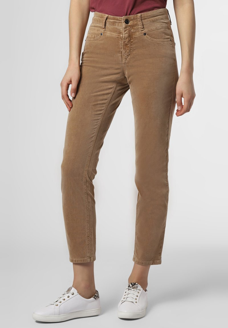 Cambio - Trousers - camel