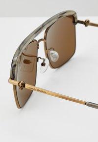Alexander McQueen - SUNGLASS MAN - Solbriller - bronze-coloured/brown - 2