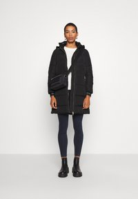 Calvin Klein - LOGO PUFFER COAT - Winter coat - black - 1
