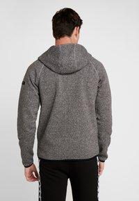 FIRST - ALLEN HOOD ZIP JACKET - Mikina na zip - medium grey melange - 2