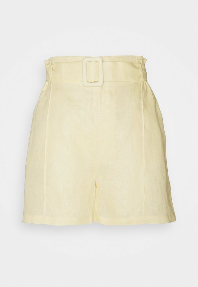 BABETTE SARAH - Shorts - light yellow