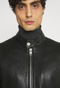 Gipsy - BENNET - Leather jacket - black - 5
