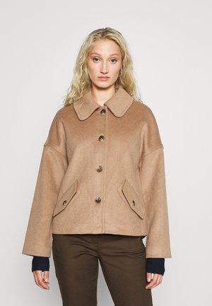 BLEND CROPPED JACKET - Summer jacket - warm khaki