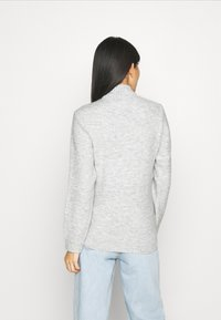 Anna Field - BASIC-PERKIN NECK - Jumper - mottled light grey - 2