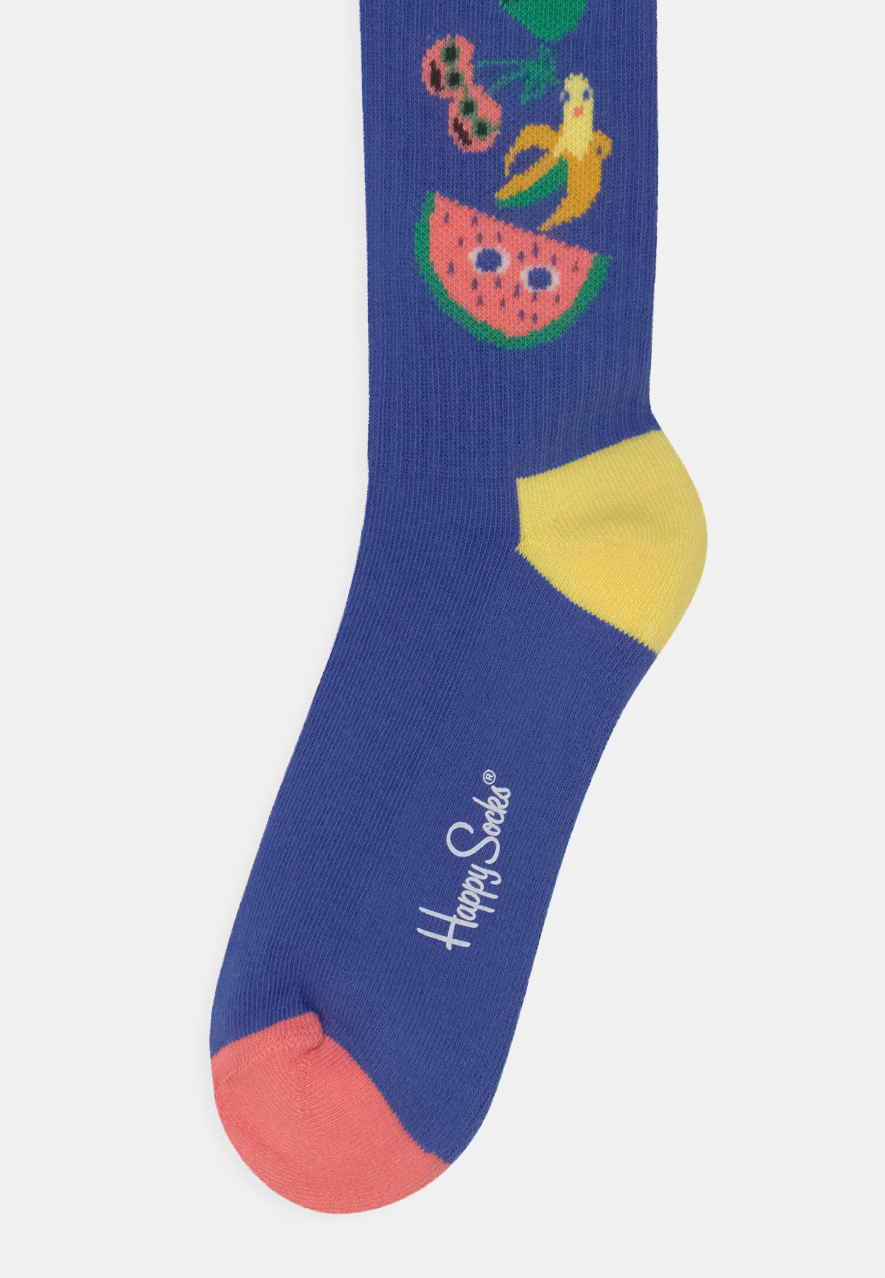 Kids FRUIT TOWER BURGERS 2 PACK UNISEX - Knee high socks