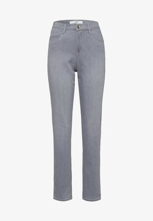 STYLE CAROLA - Jeans slim fit - used light grey