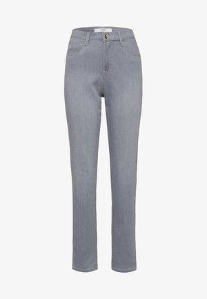 STYLE CAROLA - Jean slim - used light grey