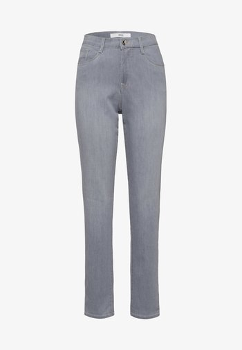 STYLE CAROLA - Slim fit jeans - used light grey