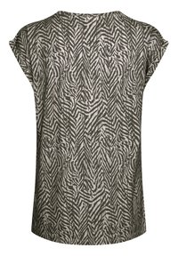 Saint Tropez - Print T-shirt - ombre blue zig zebra - 5
