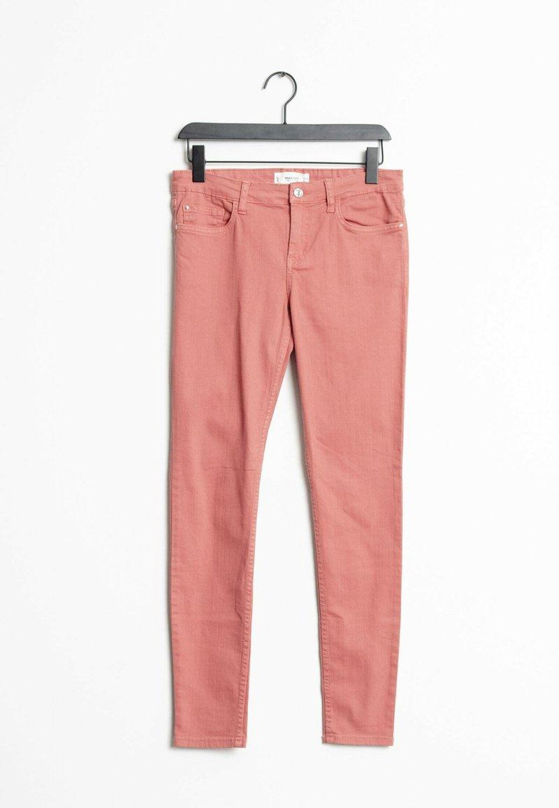 Mango - Slim fit jeans - pink