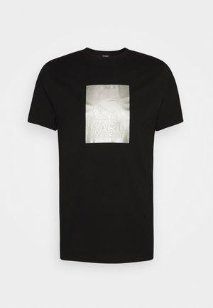 CREWNECK - Triko spotiskem - black/silver