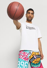 Mitchell & Ness - NBA ALL STAR SHORT - Sports shorts - green/grizzlies teal - 3
