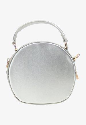 Across body bag - silber metallic