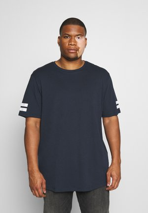 JCOBORO TEE CREW NECK - T-shirt print - navy blazer