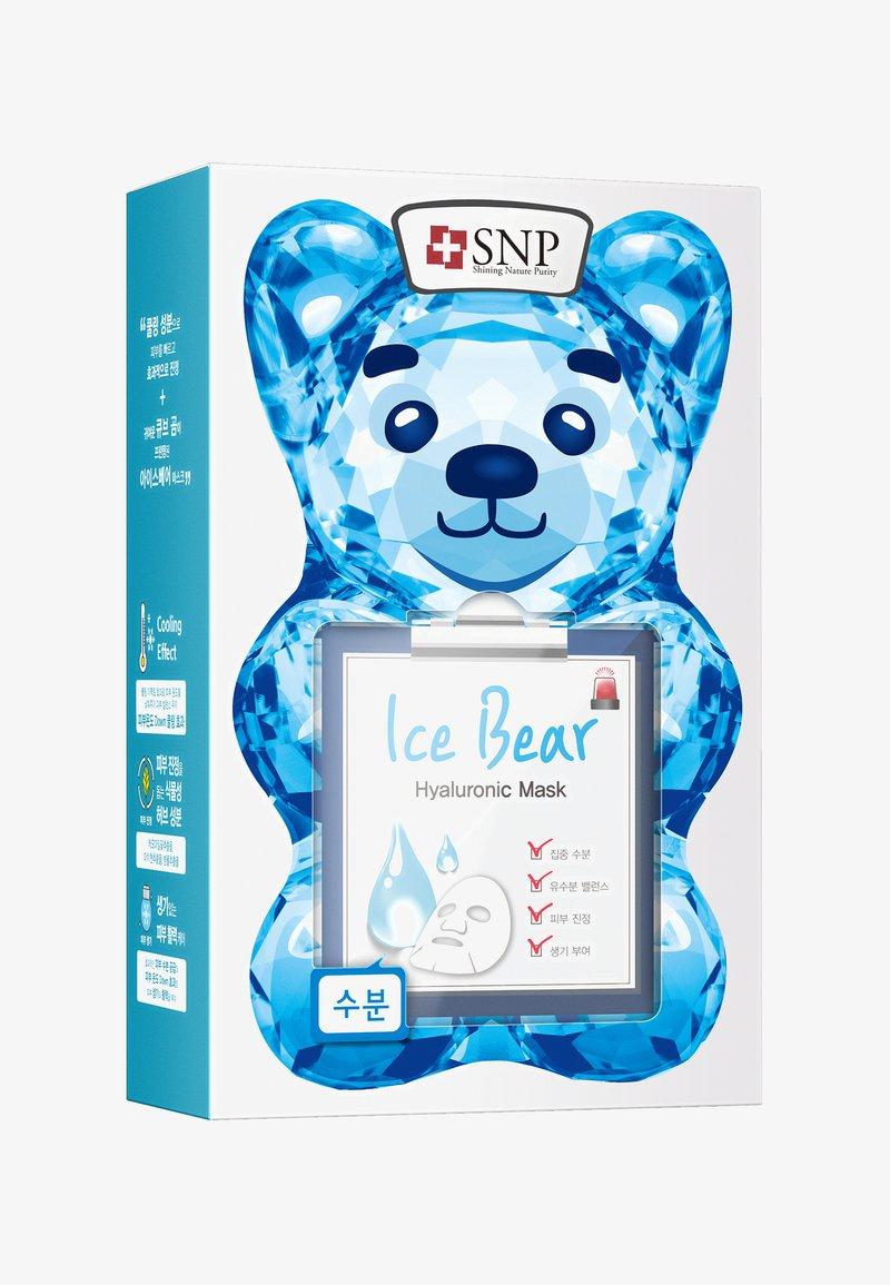SNP - SNP ICE BEAR HYALURONIC MASK 10 PACK - Face mask - -