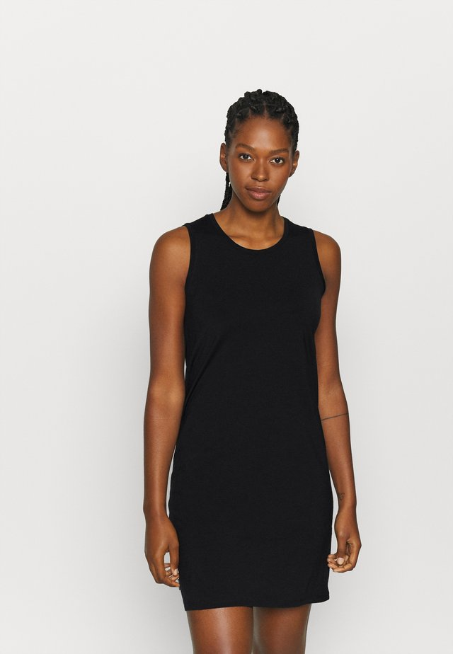 YANNI SLEEVELESS DRESS - Urheilumekko - black