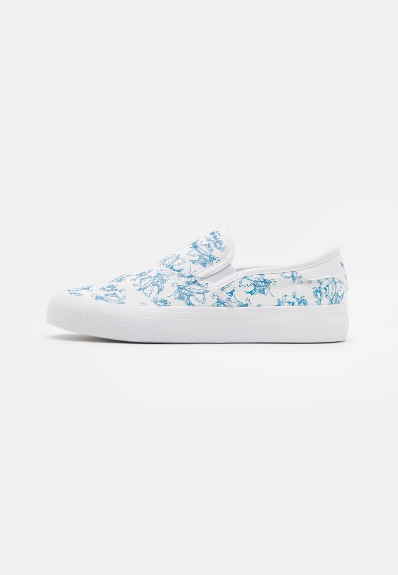 adidas Originals - 3MC X DISNEY SPORT GOOFY UNISEX - Slip-ons - footwear white/light blue