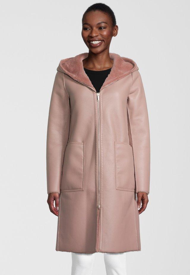 ALIDA - Classic coat - misty rose