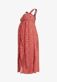 Topshop Maternity - SPLIT FRONT - Day dress - red - 6
