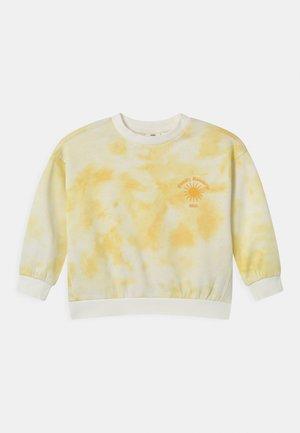 MINI PRINT - Felpa - yellow