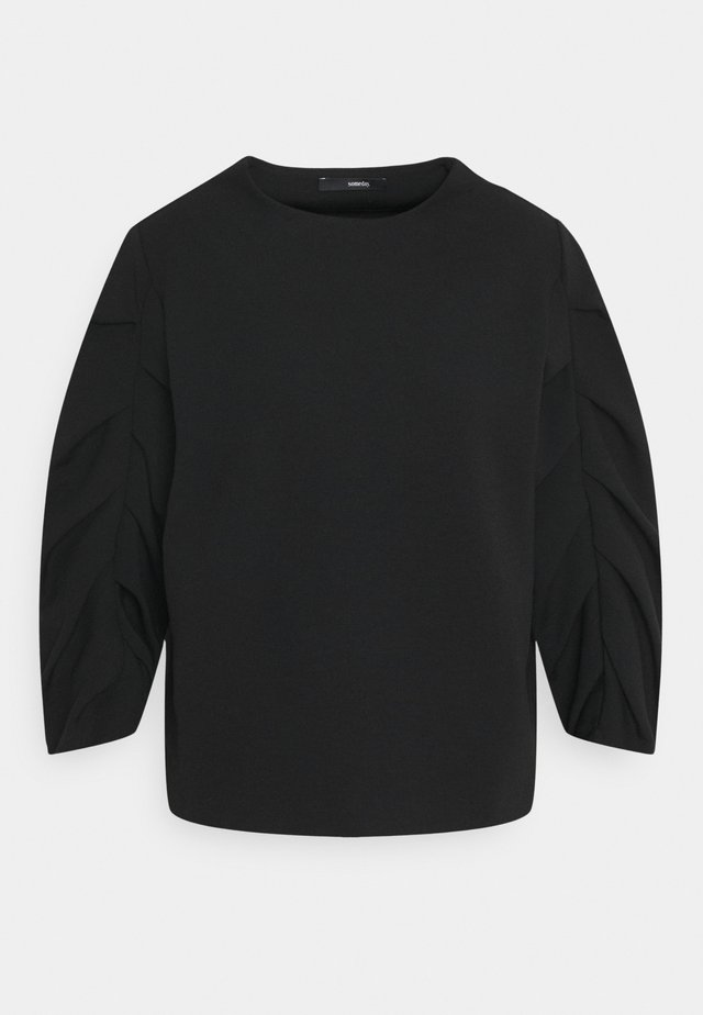 UMERE - Top sdlouhým rukávem - black