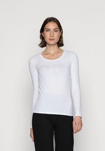 IZAGA TEE - Long sleeved top - pure white