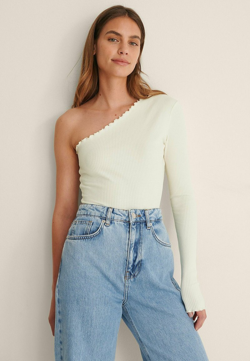 NA-KD - Long sleeved top - offwhite