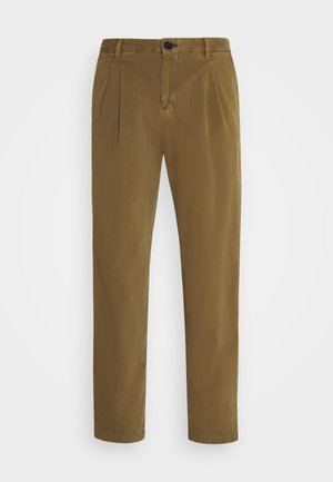 MENS DOUBLE POCKET - Chinos - brown