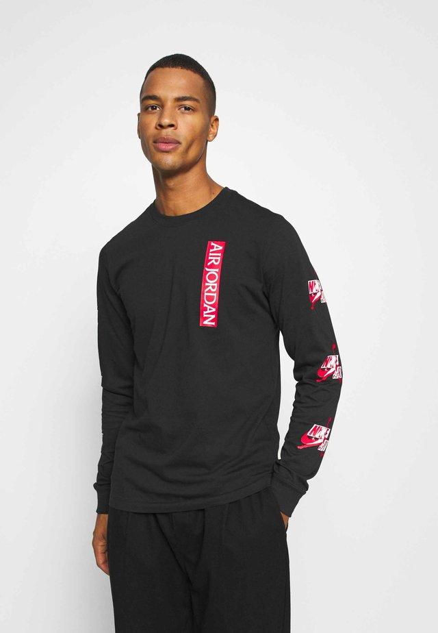 CLASSICS CREW - Camiseta de manga larga - black/red/white