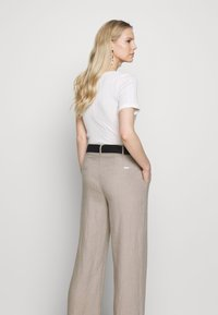 Esprit Collection - HR FLARED - Trousers - beige - 3