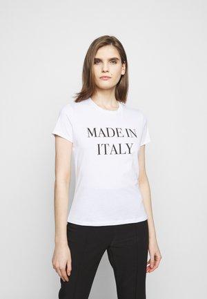 T-shirt imprimé - gesso