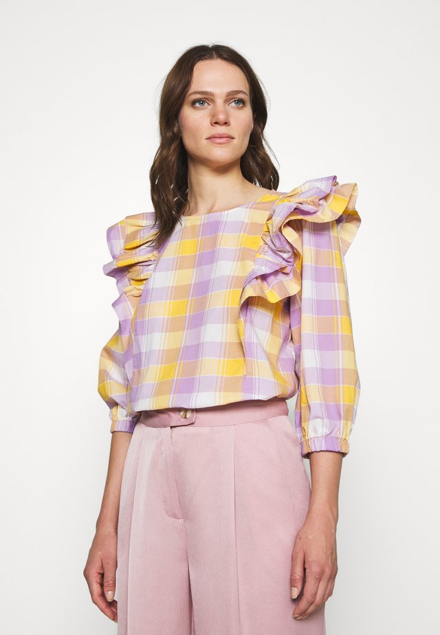 BIRKA BLOUSE - Blouse - narcissus