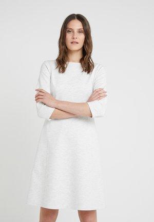 ALOMA - Jersey dress - open white