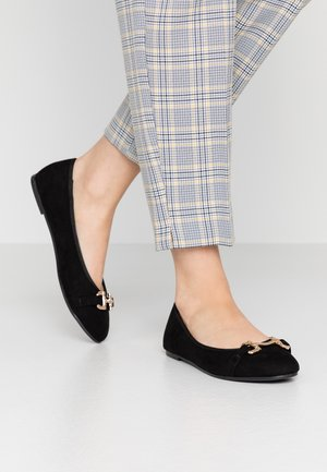 WIDE FIT RAZIA SNAFFLE  - Ballet pumps - black