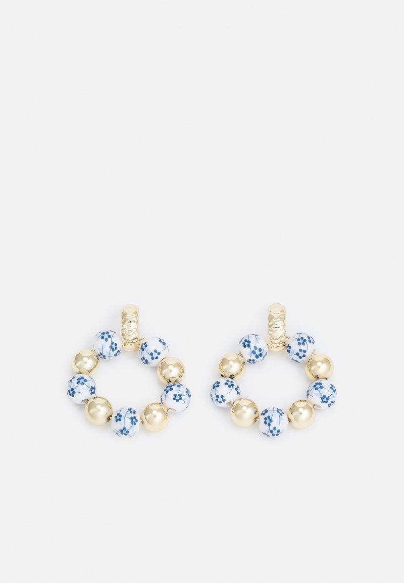 Topshop - FRESIA DOOR KNOCKER - Earrings - gold-coloured