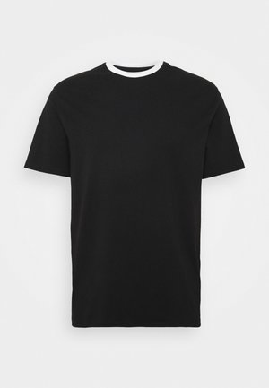 MENNACE PATCH CREW NECK - T-shirt con stampa - black