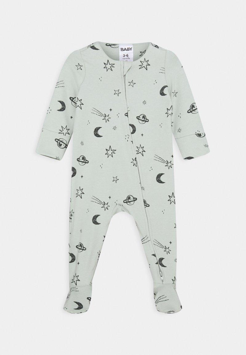 Cotton On - THE LONG SLEEVE ZIP  - Sleep suit - stone green