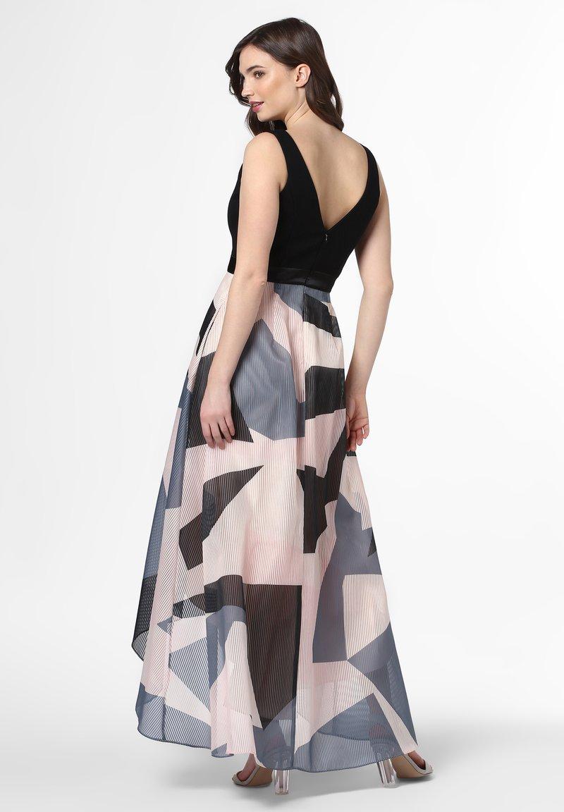 Cocktail dress / Party dress - schwarz rosa