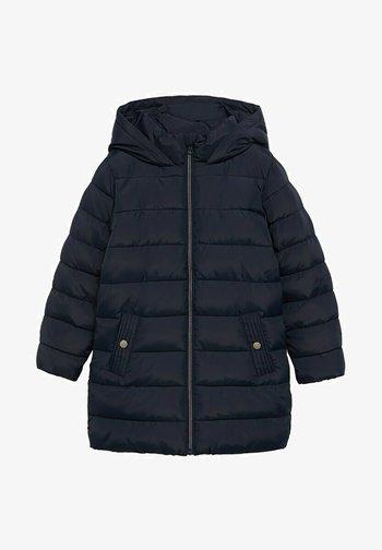 Winter coat - dunkles marineblau