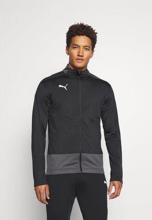 TEAMGOAL TRAINING JACKET - Kurtka sportowa - black/asphalt