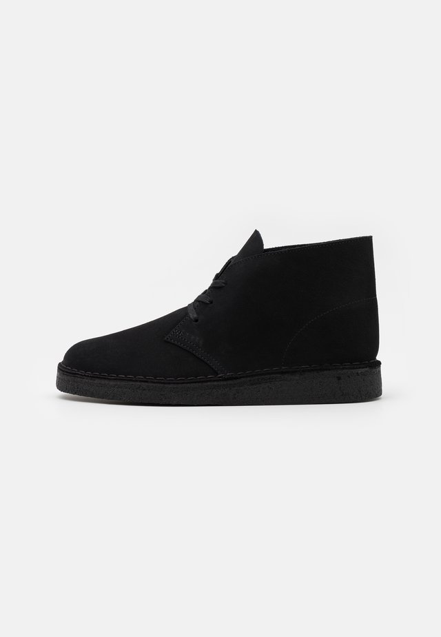 DESERT COAL - Casual lace-ups - black