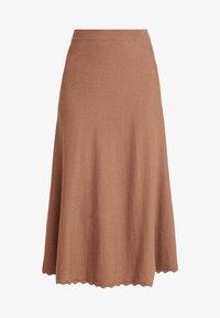 SKIRT CALF LENGTH - A-line skirt - thrush