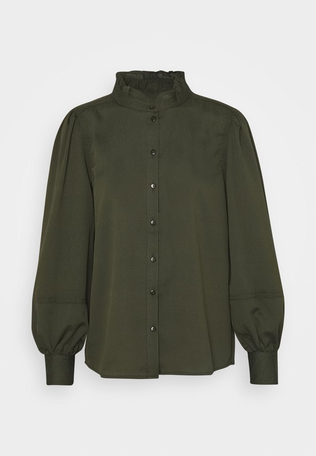 JDYSALLY  - Button-down blouse - forest night