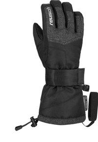Reusch - Gloves - blck/blck melange/silver - 1