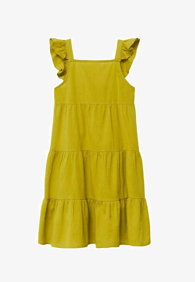 Mango - ROBE - Day dress - citron vert