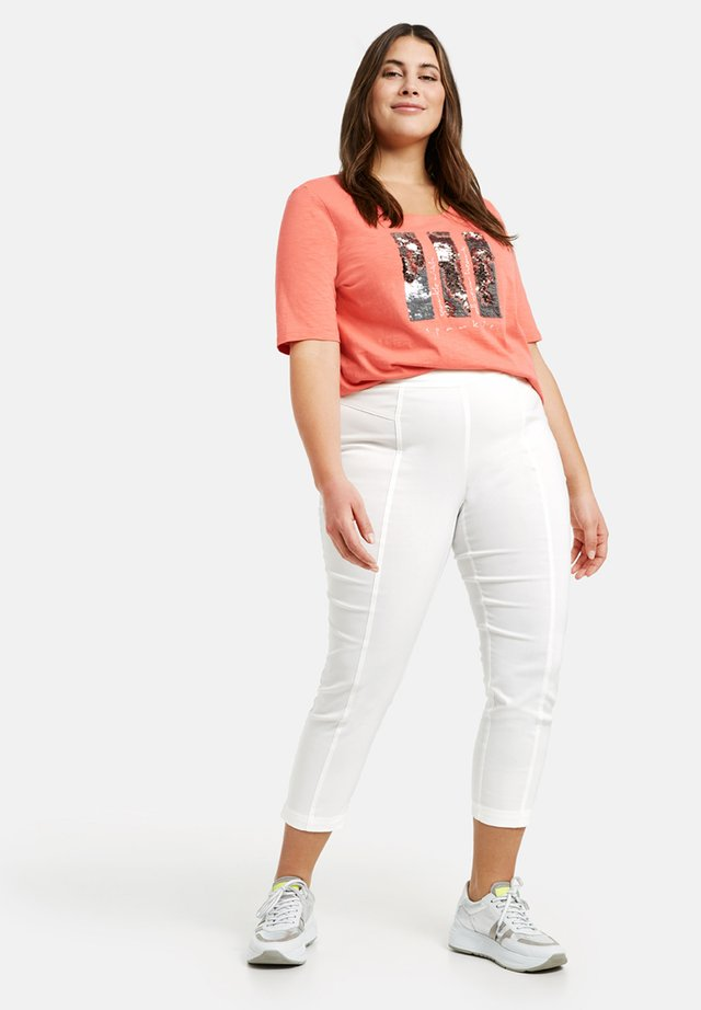 LUCY - Leggings - Trousers - white