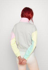 Puma - TRACK JACKET - Zip-up sweatshirt - gray/violet - 3