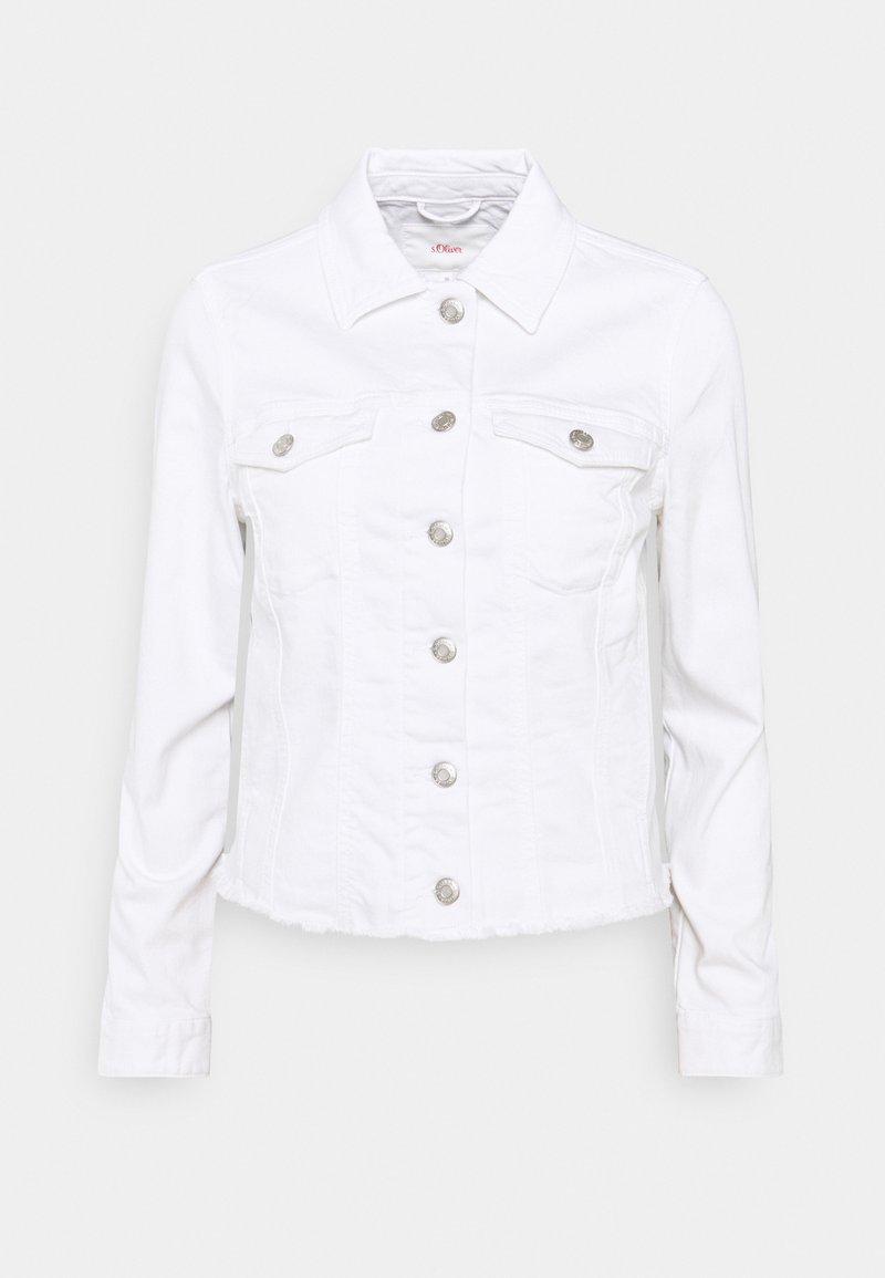 s.Oliver - Denim jacket - white denim