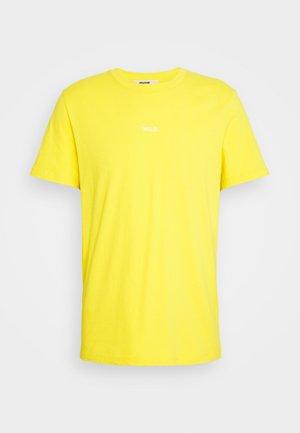 TED PHOTOPRINT - T-shirts med print - yellow/black