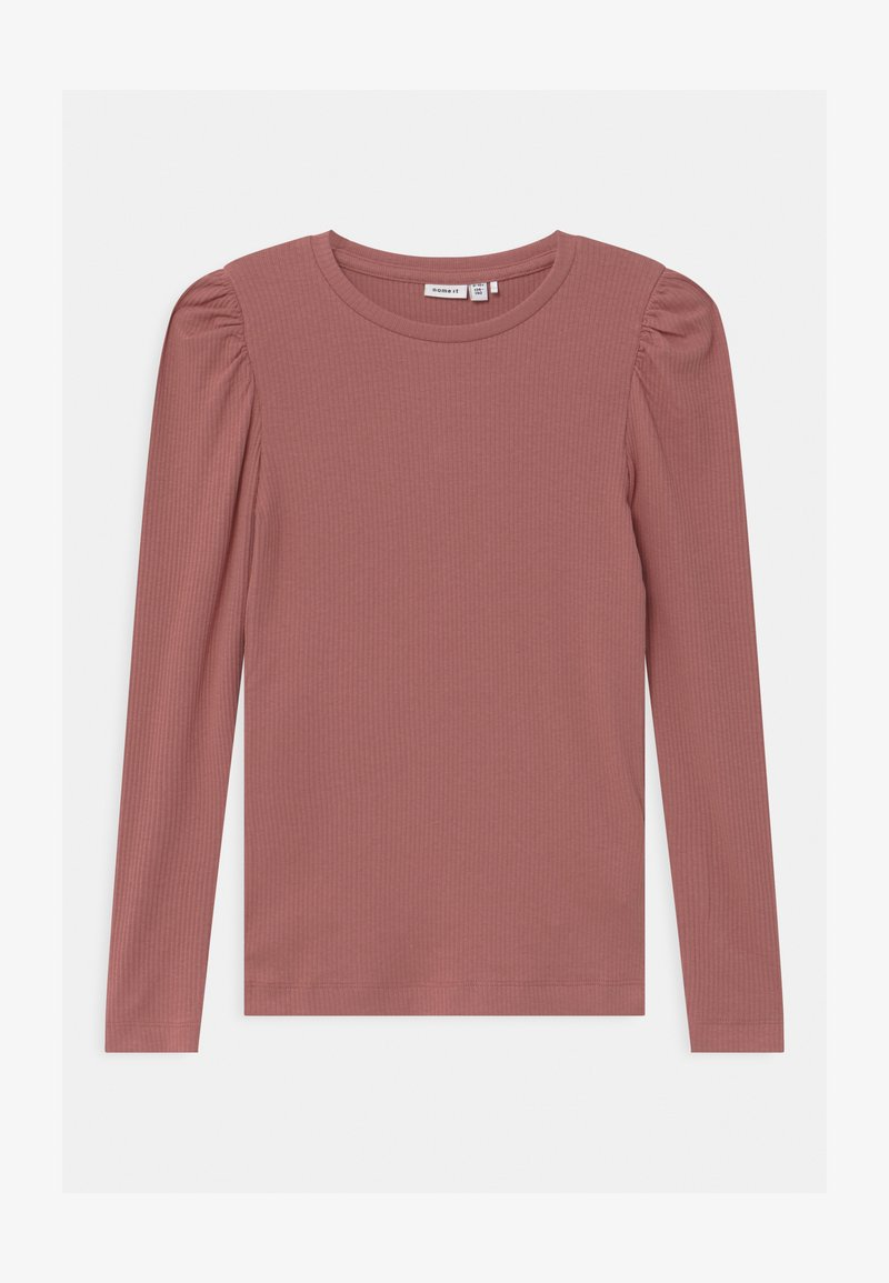 Name it - NOOS - Langærmede T-shirts - withered rose